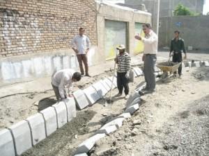 پروژه هدایت و دفع آبهای سطحی