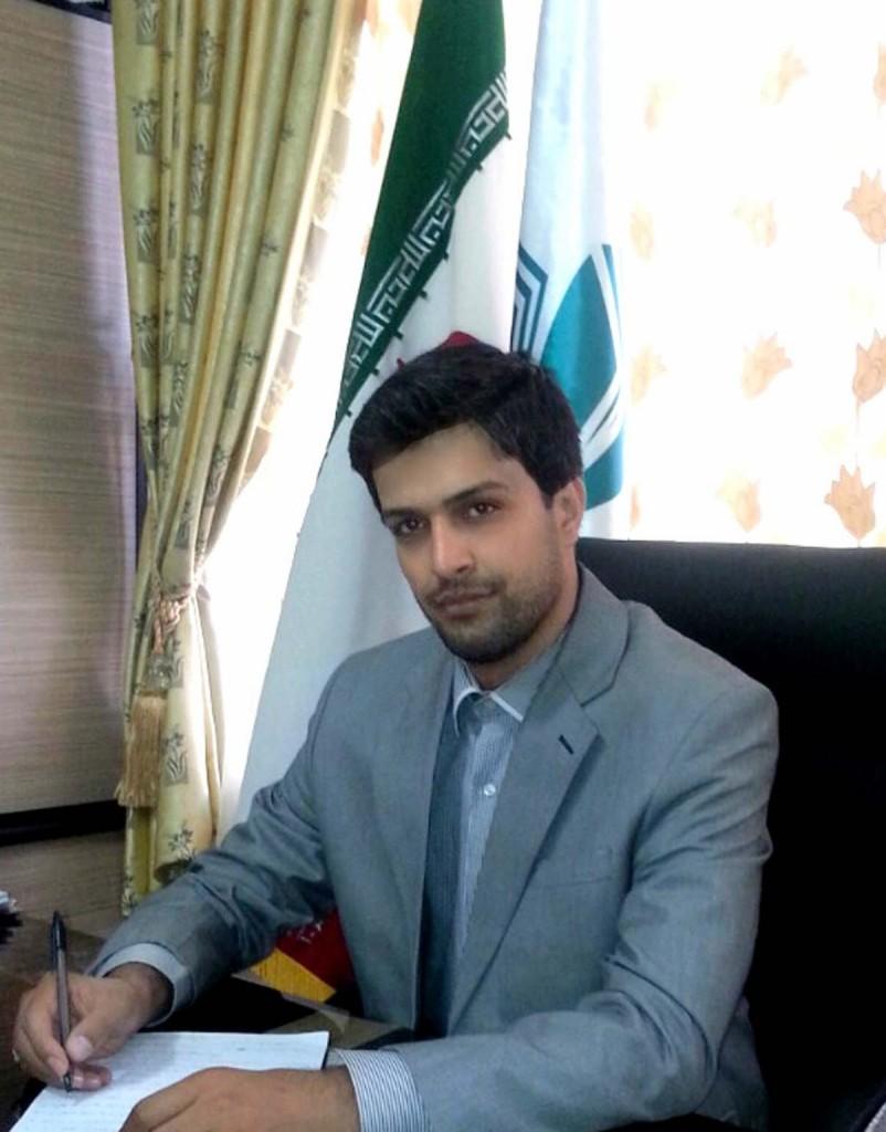بابک شریفی شهردار خامنه