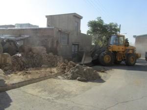 تملک و بازگشایی در خیابان میرپنج