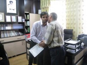 تجلیل از آتش نشانان شهرداری خامنه