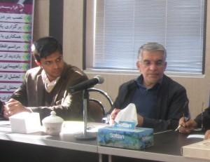 جلسه بررسی مسائل و مشکلات شهر خامنه با حضور نماینده محترم