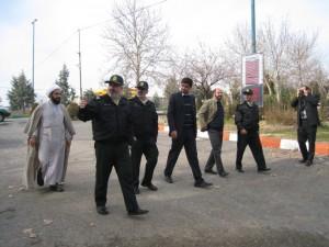 بازدید سردار حسن خانی از اماکن تاریخی خامنه