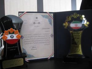"""شورای اسلامی خامنه """"شورای نمونه استان"""" در سال ۹۳ معرفی گردید"""