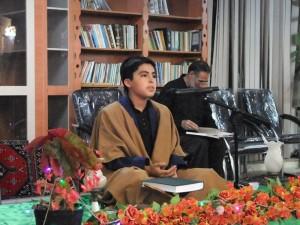 محفل انس با قرآن در شهر خامنه