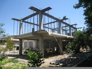اتمام عملیات اسکلت بندی ساختمان شهرداری