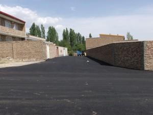 فاز دوم پروژه آسفالت ریزی خیابان ها و معابر شهر خامنه آغاز گردید