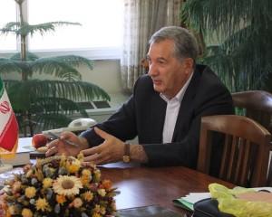 دیدار شهردار و اعضای شورای اسلامی خامنه  با دکتر انگجی