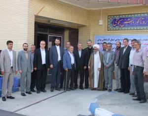 جدیری رئیس جدید دانشگاه آزاد اسلامی واحد خامنه شد