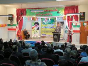 جشن غدیر و تجلیل از شاعر پیشکسوت نیک رفتار و برگزیدگان علمی و فرهنگی و ورزشی برگزار گردید