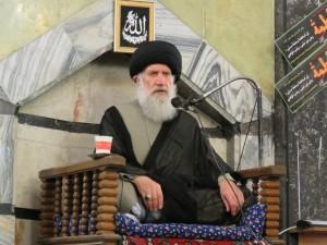 خامنه میزبان استاد فاطمی نیا/جلسه سخنرانی بمناسبت عید غدیرخم