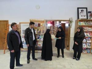 روز کتاب ، کتابخوانی و کتابدار / بازدید از کتابخانه آیت الله سید جواد خامنه ای