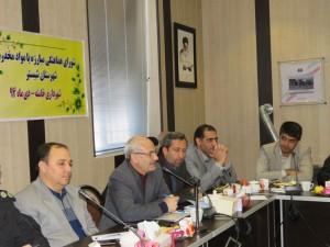 شورای هماهنگی مبارزه با مواد مخدر شهرستان، در شهر خامنه تشکیل جلسه داد
