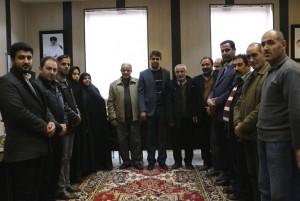 تجلیل از بازنشستگان شهرداری و مسابقه طناب کشی