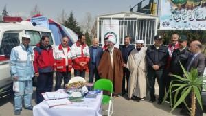 بازدید سرزده مسئولین شهرستان از کمپ راهنمای گردشگری و پایگاه اورژانس و امداد و نجات جادهای شهر خامنه