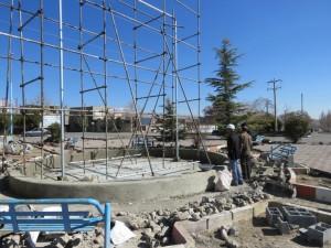 پروژه ساماندهی میدان بسیج و اولین پرده آب استان تا پایان سال افتتاح میگردد