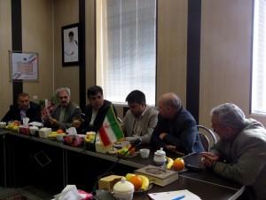 اولین جلسه هیأت عالی سرمایه گذاری شهرداری خامنه در سال ۹۵ برگزار گردید