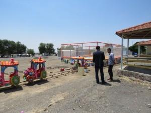 عملیات اجرایی پروژه احداث شهربازی قرهکهریز آغاز گردید