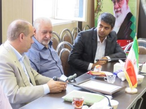 جلسه بررسی مشکلات آموزشی شهر خامنه برگزار گردید