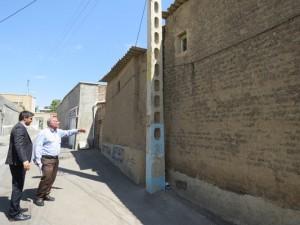 پروژههای مرمت و بازسازی اماکن گردشگری شهر خامنه در آستانه تصویب اعتبار