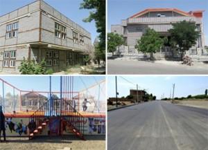 شهر خامنه در آستانه تحولی بزرگ؛ چهار طرح عمران شهری در شرف افتتاح