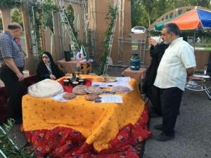 حضور شهرداری خامنه در نمایشگاه سفره ایرانی