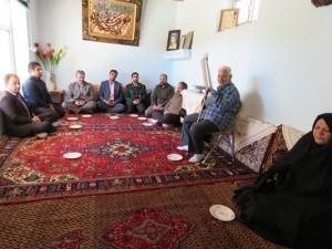 دیدار و نشست صمیمی با خانواده های معظم شهداء در هفته دفاع مقدس