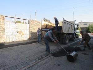 گزارش تصویری؛ اقدامات و فعالیت های عمرانی-خدماتی یکماه اخیر شهرداری خامنه