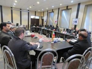 جلسه هماهنگی مراسم راهپیمایی ۱۳ آبان در شهر خامنه برگزار گردید