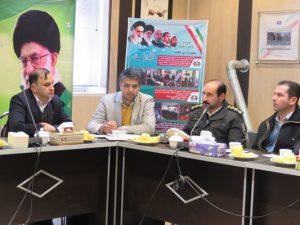 جلسه بررسی مشکلات ترافیکی منطقه گردشگری قره کهریز به میزبانی شهرداری خامنه برگزار گردید