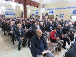 مجمع عمومی سالانه جمعیت خیریه و مراسم یادبود درگذشتگان سال ۹۵ شهر خامنه برگزار گردید
