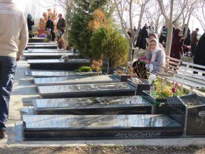 گزارش تصویری از مراسم یادبود درگذشتگان شهر خامنه همزمان با اولین پنجشنبه از ماه مبارک رجب