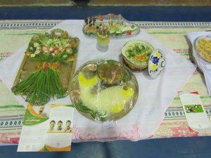 جشنواره غذاهای سنتی ایرانی در شهر خامنه برگزار گردید