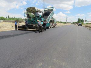 اتمام عملیات آسفالت ریزی فاز دوم پروژه احداث خیابان شهدای مدافع حرم
