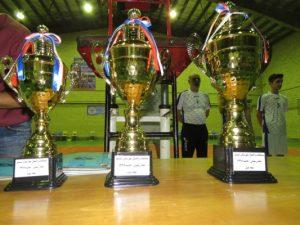 تیم های برتر مسابقات والیبال اتحاد و همدلی شهرستان شبستر جام رمضان سال ۹۶ مشخص شدند