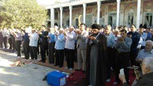 نماز عید سعید فطر با حضور پرشور شهروندان خامنه اقامه شد