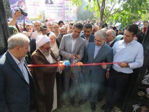 چهار پروژه بزرگ عمران شهری با حضور استاندار آذربایجان شرقی در شهر خامنه افتتاح شد