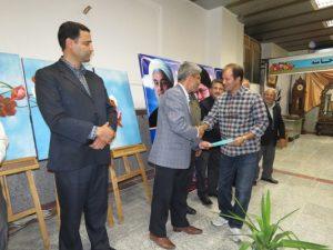 برگزاری اختتامیه نمایشگاه صنایع دستی و مشاغل خانگی شهر خامنه