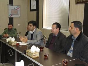 جلسه هماهنگی ستاد برگزاری مراسم ایام الله دهه فجر شهر خامنه تشکیل شد.