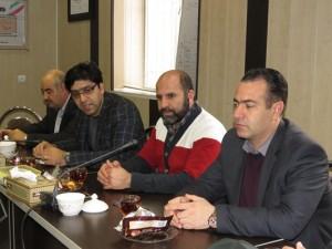اولین جلسه شورای اداری شهر خامنه با حضور رؤسای ادارات شهر برگزار گردید.