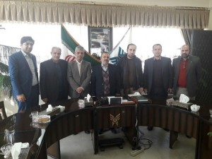 شهردار و اعضای شورای اسلامی خامنه با رئیس دانشگاه آزاد اسلامی استان آذربایجان شرقی دیدار و گفتگو نمودند.