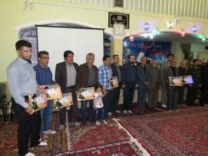 محفل انس با قرآن و یادواره شهدای سرافراز شهر خامنه همزمان با شب بیست و سوم ماه مبارک رمضان برگزار شد.