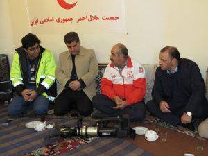 گزارش تصویری؛ بازدید از پایگاه امداد و نجات جاده ای هلال احمر مستقر در منطقه گردشگری قره کهریز
