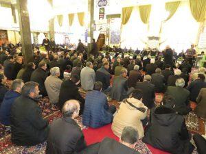 گزارش تصویری؛ مراسم یادبود متوفیان سال ۹۷ شهر خامنه
