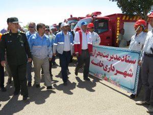گزارش تصویری؛ مانور استانی زلزله به میزبانی شهر خامنه برگزار شد