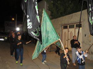 گزارش تصویری؛ برگزاری مراسم عزاداری و سوگواری سرور و سالار شهیدان حضرت امام حسین(ع) در شهر خامنه