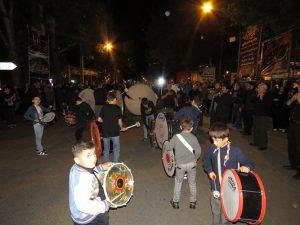 گزارش تصویری؛ برگزاری مراسم عزاداری و سوگواری شب تاسوعای حسینی در شهر خامنه