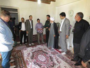 دیدار با خانواده های معظم شهیدان عقیلی و پورحسن همزمان با هفته دفاع مقدس
