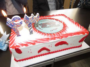 مراسم بزرگداشت روز آتش نشانی و ایمنی و جشن چهل و سه سالگی آتش نشانی شهرداری خامنه برگزار شد