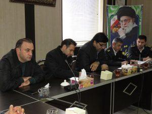 جلسه شورای فرعی ترافیک با محوریت نصب دوربین های مداربسته در شهر خامنه تشکیل شد