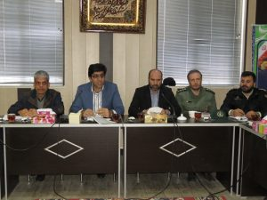 جلسه هماهنگی ستاد برگزاری مراسم ایام الله دهه فجر شهر خامنه تشکیل شد